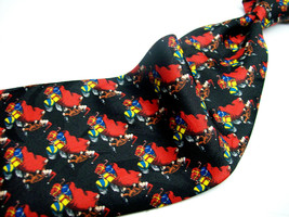 CURIOUS GEORGE at CHRISTMAS Monkey Novelty Mens 100 poly  Necktie 426B-6 - $17.99