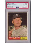 1961 Topps Mickey Mantle #300 PSA 6 P487 - $469.16