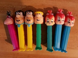 """7 assorted The Flintstones"""" PEZ Dispensers - $12.86"""