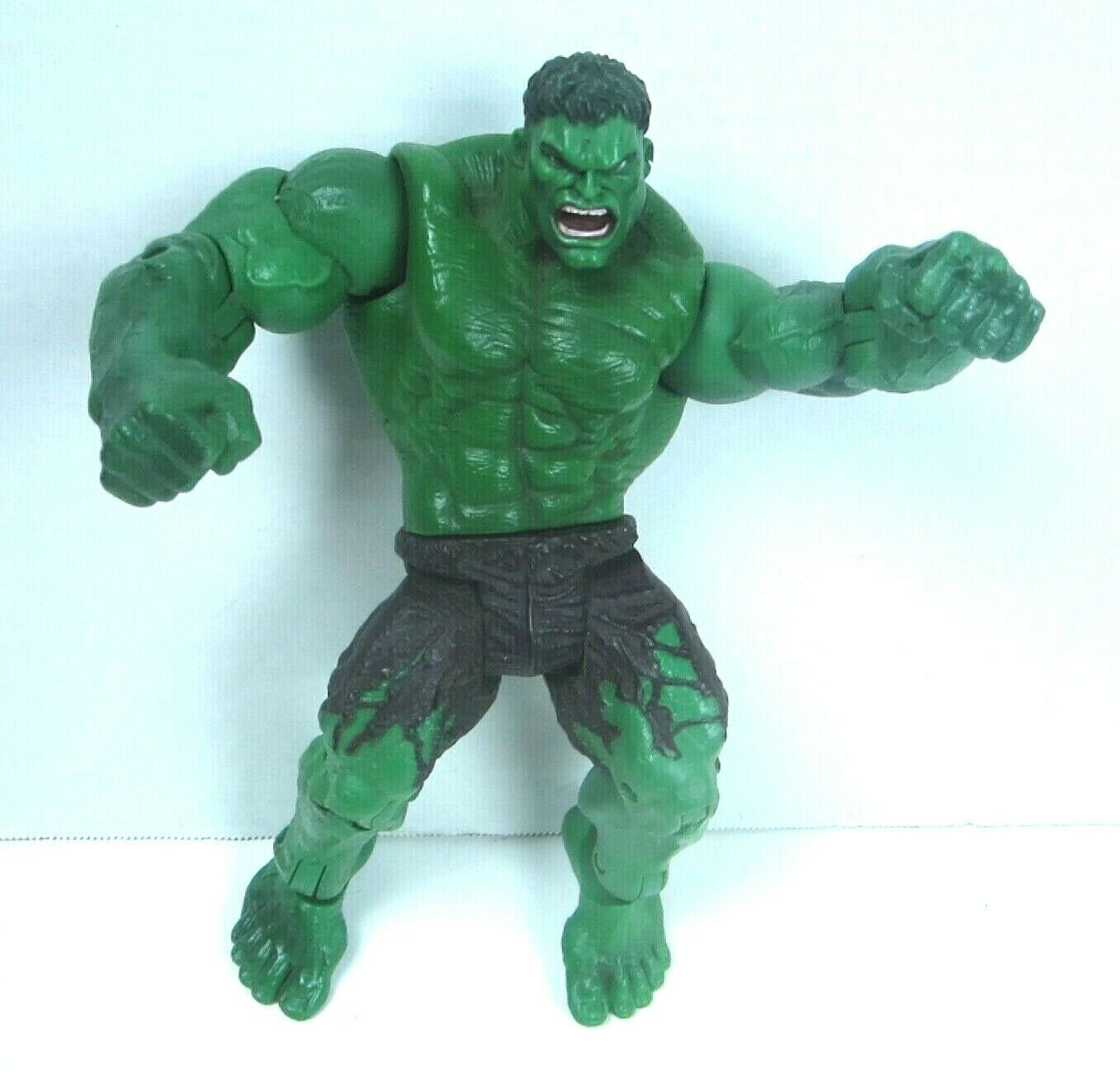 "2003 Hulk the Movie Action Figure Universal Marvel Throwing Smash Arms 8"" image 2"
