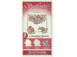 Spellbinders Edgeabilities Rose Blossoms Die #S4-044