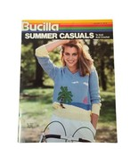 Vintage Bucilla Summer Casuals To Knit And Crochet Booklet Vol 70, 1983 - $9.16