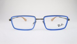 RayBan RB6337 2620 Optical Frame Blue Eyeglasses Metallic Frame - $55.90