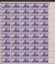 1947 3c Utah Centennial Sheet of 50 US Postage Stamps Catalog Number 950 MNH