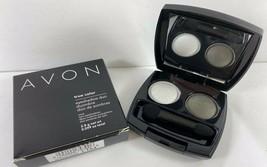 Avon True Color Eyeshadow Duo .099 oz SATIN SMOKE DUO L104 - $8.90