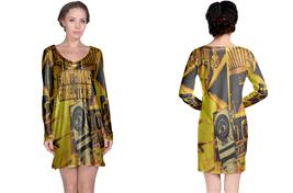 Long Sleeve Night Dress  Fantomas Band Director's Cut - $23.99+
