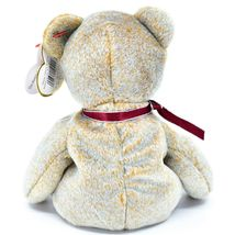 1999 TY Beanie Baby Signature Bear Embroidered Heart Beanbag Plush Toy Doll image 3