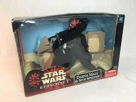 DARTH MAUL + SITH SPEEDER - Star Wars EPISODE I - Unopened Action Figure  - $100.00