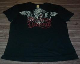 WOMEN'S TEEN BLEEDING THROUGH T-shirt XL METAL Band NEW - $19.80