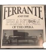 FERRANTE AND THE PHANTOM OF THE OPERA CD PIANO MUSIC 1989 Bainbridge EUC... - $10.45