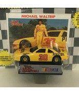 Racing Champions Michael Waltrip #30 Nascar Toy Stock Car Racing with St... - $3.00