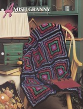 Amish Granny, Annie's Crochet Quilt and Afghan Pattern Club Leaflet 11-1-01 - $2.95