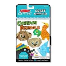 Melissa & Doug Creative Playset - On-The-Go Crafts Animals Origami Activ... - $14.25