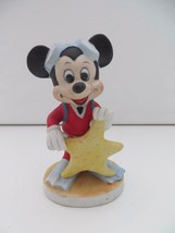 "Vintage Mickey Mouse Scuba Diver Figurine Starfish Walt Disney Productions 4"" - $12.99"