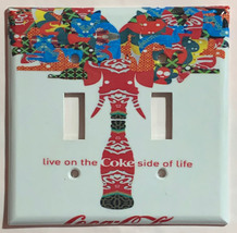 Live on Coke Coca-Cola bottle Light Switch Outlet wall Cover Plate Home Decor image 3