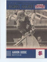 AARON JUDGE RC 2015 Panini Contenders Old School Colors #23 Houston Astr... - $9.99