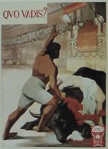 Quo Vadis? - Italian 1913 - Movie Poster - Framed Picture 11 x 14 - $32.50