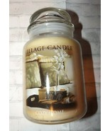 Village Candle Cozy Home Premium Scent 26 Oz Glass 170 Hrs Burn Time Mai... - $24.16
