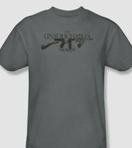 The Untouchables Tommy Gun T-shirt retro 1990's movie cotton graphic tee PAR419 image 1