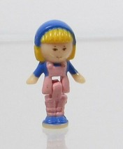 1990 Vintage Polly Pocket Doll Flower Shop - Midge Bluebird Toys - $7.50