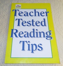1992 Teacher Tested Reading Tips Troll Club Ideas Resource Book Home School - $8.99