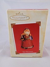 Hallmark Keepsake The Decision Coal or Present Ornament  2003 - $4.65