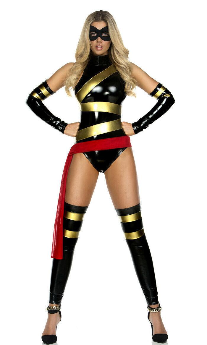 Forplay Haute Hero Comicbuch Superheld Erwachsene Damen Halloween Kostüm 554703