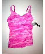 NWT Womens Studio Lux Under Armour New M Top Bra Pink Camo Yoga Pilates ... - $14.00