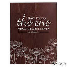Song of Solomon 3:4 Sign - $24.99