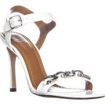 Coach Bonnie Heeled Sandals, Off White, 8 US / 38.5 EU - $121.91