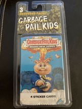 Topps Garbage Pail Kids Lot 3 Packs Brand New Series Unopened Sticker Cards - $9.49