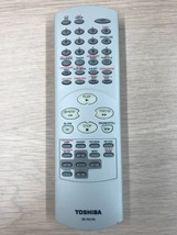 TOSHIBA SE-R0108 Remote Control - Tested & Cleaned                          (G9)
