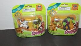 NEW 4 pc lot Scooby Doo  action figures 2 sets Zombie Frankenstein Space... - $19.79