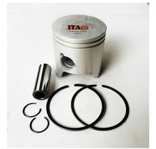 Piston Kit Ring Set 6H3-11631 6B0 For Yamaha Outboard 60HP 70HP E60 STD 2T 72MM - $50.15