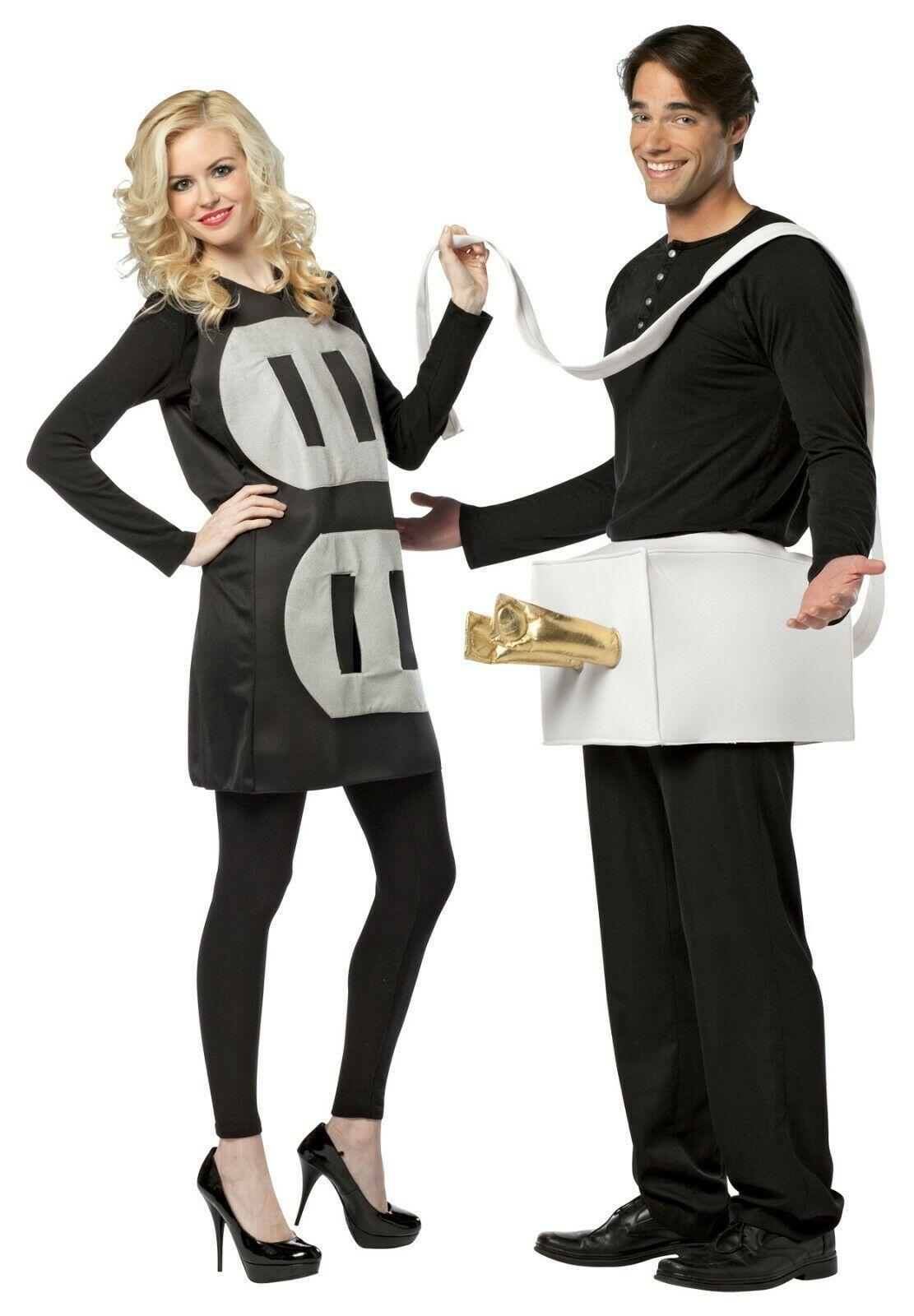 Rasta Imposta Fiche et Prise Léger Drôle Couples Déguisement Halloween Gc7233