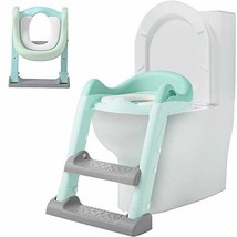 Potty Training Seat with Adjustable Ladder, Kid's Ladder Toilet Seat wit... - $42.86