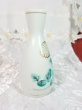"Small Vintage Hand Painted Floral Oriental - Made In China Vase 5 x 2.5"" image 5"