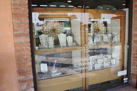 ANTICA MURRINA VENEZIA NECKLACE WITH YELLOW BROWN MURANO GLASS BALLS, 20 INCHES image 10