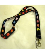 Pacman Lanyard ID Holder and MP3 or device holder-Pac Man Lanyard-Brand ... - $11.87