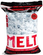 Snow Removal Winter Ice Melter Calcium Chloride Pellets Resealable Bag O... - $21.25