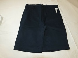 Old Navy Boys Youth 12 School Shorts adjustable waist navy Blue NWT - $18.83
