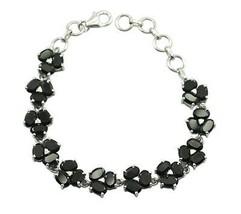 Magnetick Elegant Black Onyx 925 Sterling Silver Bracelet handcrafted gi... - $49.49