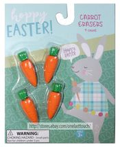 MFR* Set EASTER ERASERS+PENCIL TOPPERS Novelty SCHOOL SUPPLIES Kids *YOU CHOOSE* image 5
