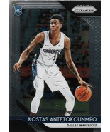 Kostas Antetokounmpo Prizm 18-19 #22 Rookie Card Dallas Mavericks - $0.75