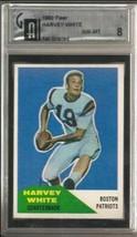 1960 Fleer #1 Harvey White GAI 8 NM MT RC Rookie - $173.20