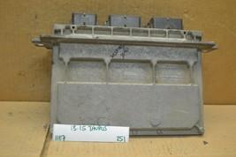 13-15 Ford Taurus Engine Control Unit ECU Module DG1A12A650SB  251-11E7 - $9.99