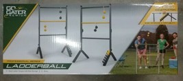 Go! Gater Gold Premium Durable Steel Ladderball Tailgate Game Black - $58.00