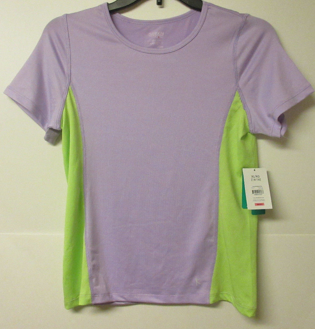 3542e6f9228 Nwt Danskin Now Girls Dri-More Shirts Size and 50 similar items. S l1600