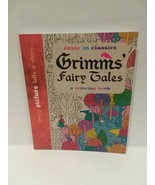 GRIMMS FAIRY TALES - COLORING BOOK - FREE SHIPPING - $14.03