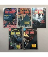 Complete Set Lot of Shadow of the Batman (1985) #1-5 VF-NM Near Mint - $44.55